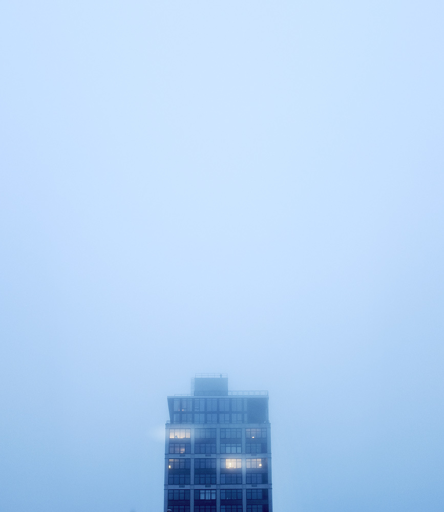 Fog in Williamsburg. Fuji X100.