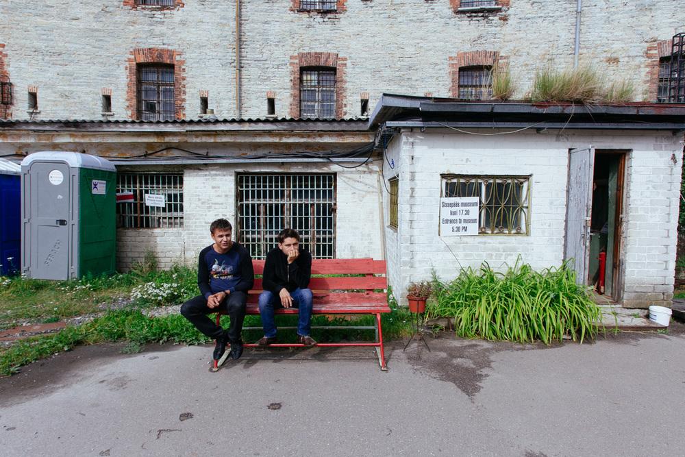 Tallinn 2010. Entrance to Batarei Prison.