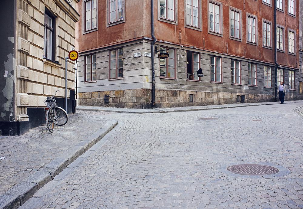 Stockholm 2014. Streets in Södermalm.