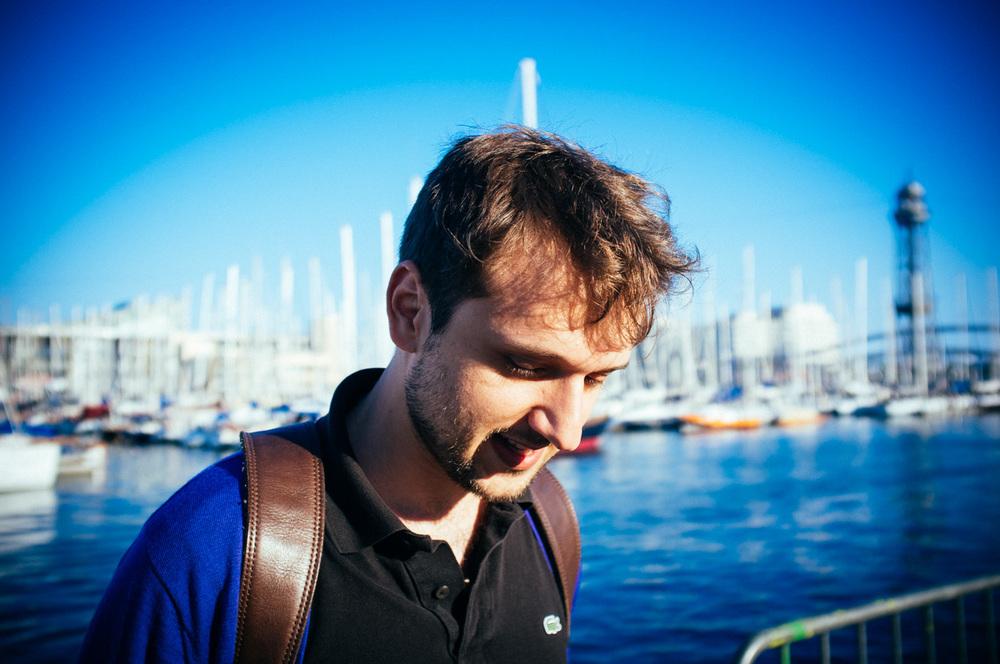 Barcelona 2012. Me in El Barri Gotic