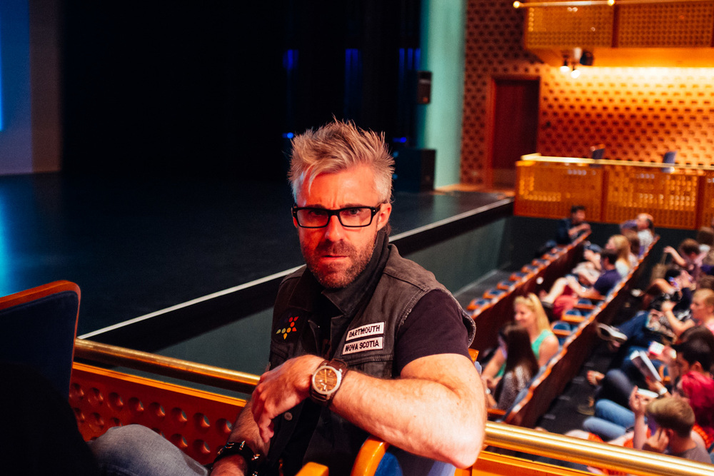 James White @signalnoise looking serious