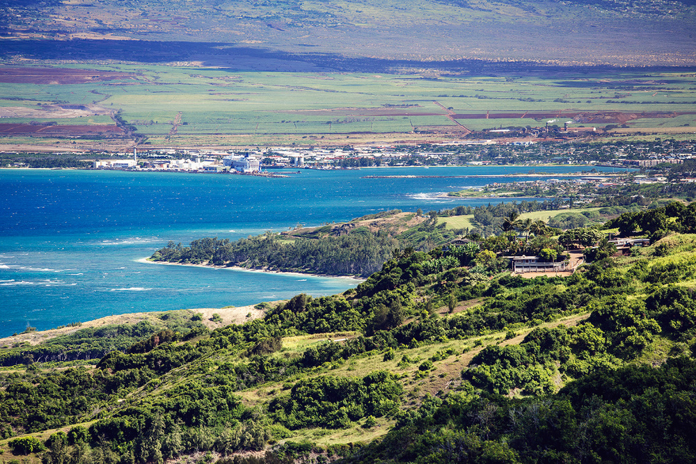 View of Kahului