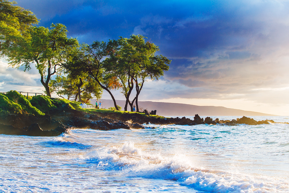 Beach in Wailea