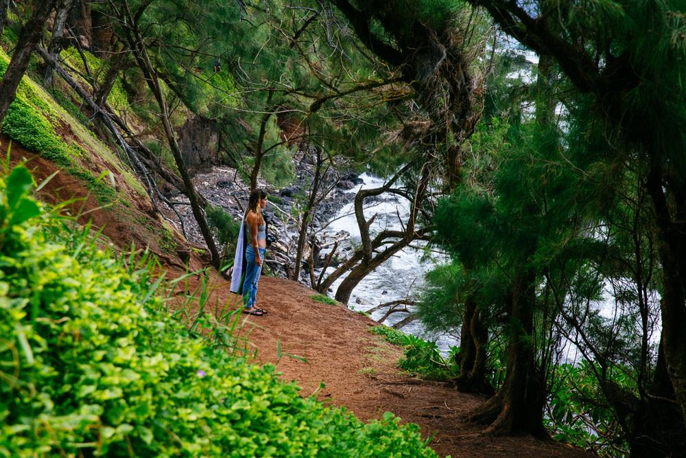 Lia in Hana, Maui