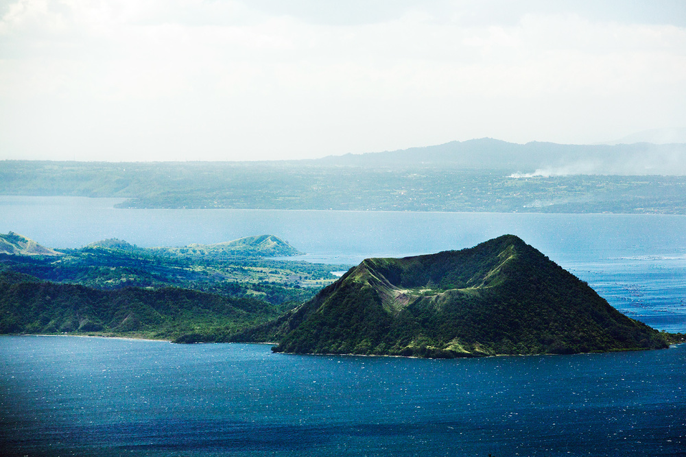 Taal Island has another crater called Binintiang Malaki  (Big Leg).