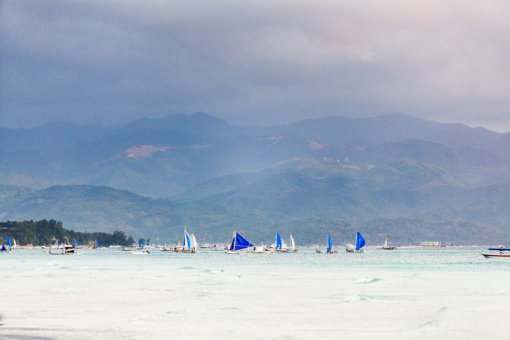 Boracay Island is not that far from a larger  Kabisayaan Island