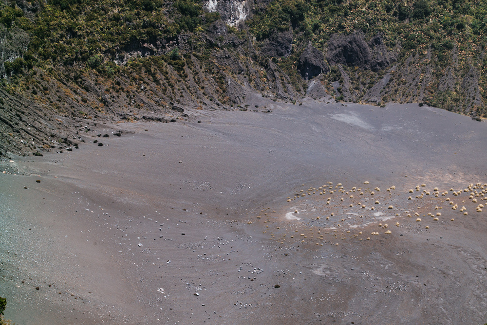 One of several Irazu volcano craters.