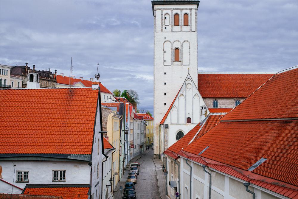 Rüütli St, Old Town, Tallinn