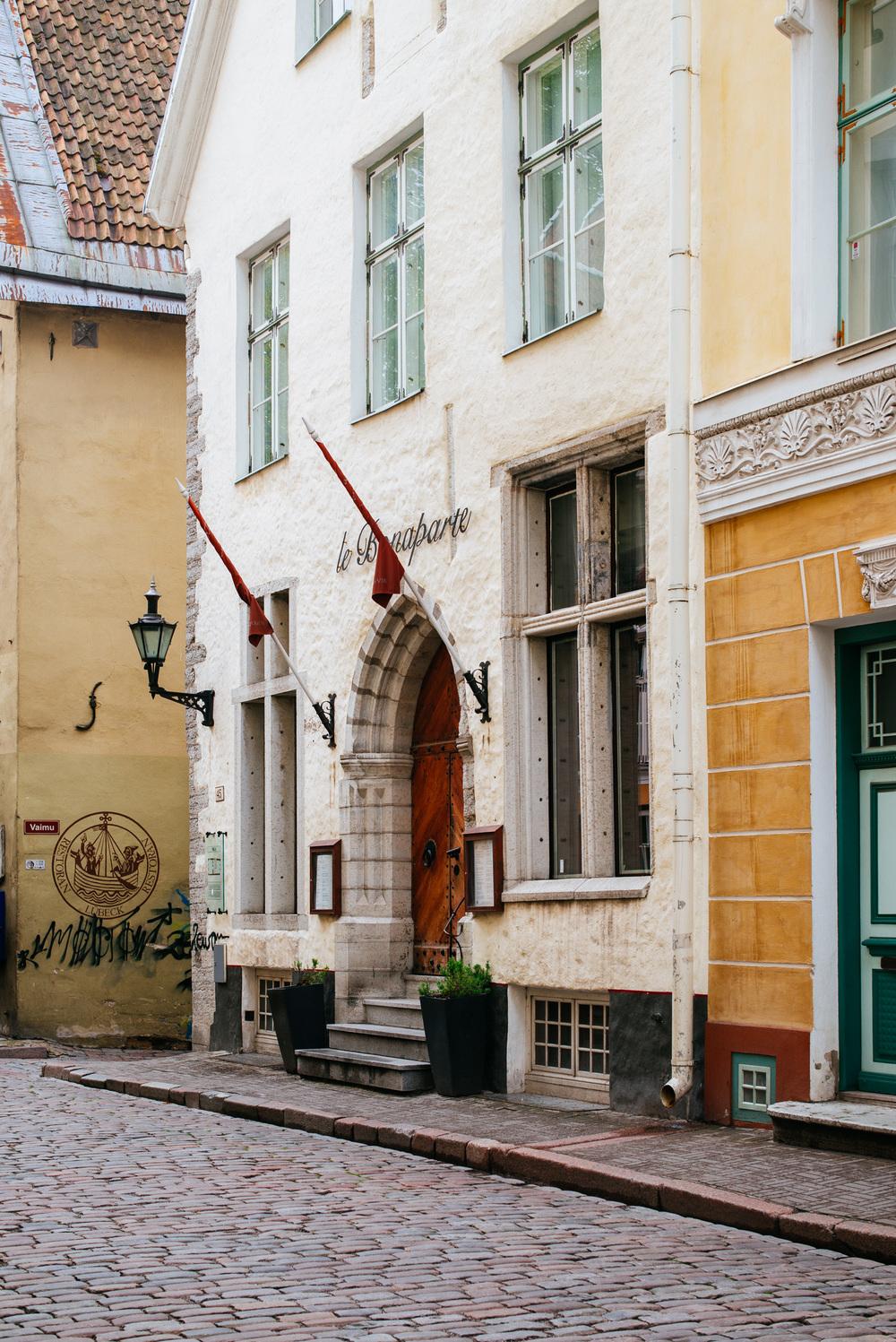 Pikk St, Old Town, Tallinn
