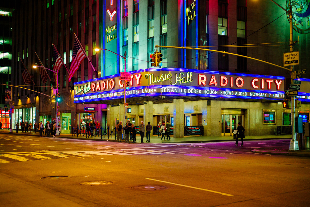 Radio City Music Hall, Manhattan