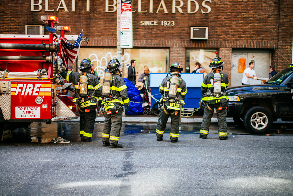 Fire on 14th Street, Manhattan