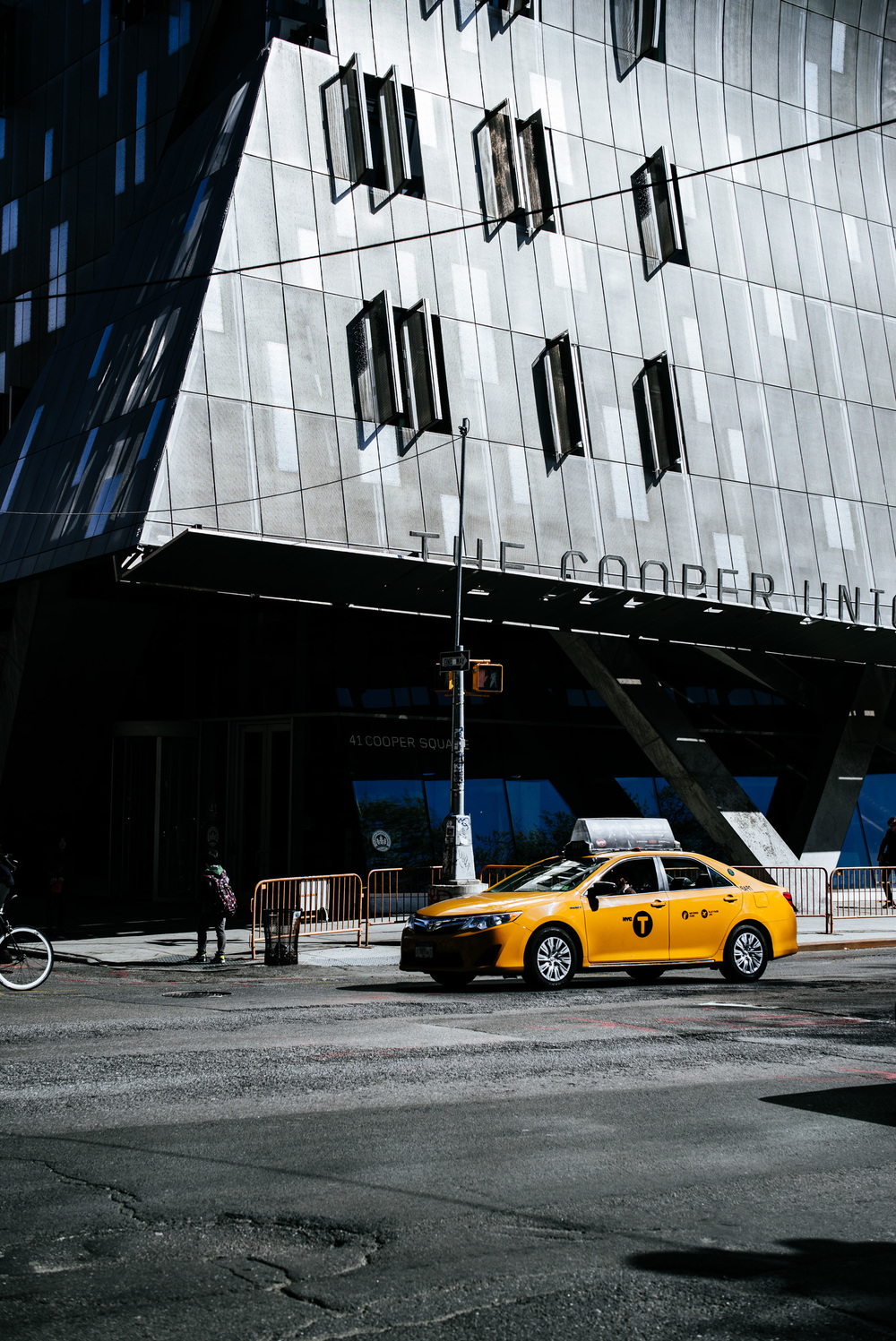 The Cooper Union Building, St. Marks, Manhattan