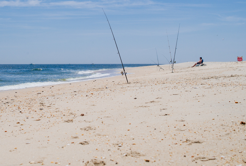 Sandy Hook beach, New Jersey