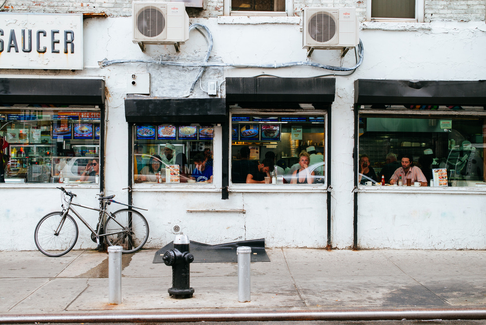 Cup & Saucer, Chinatown, Manhattan