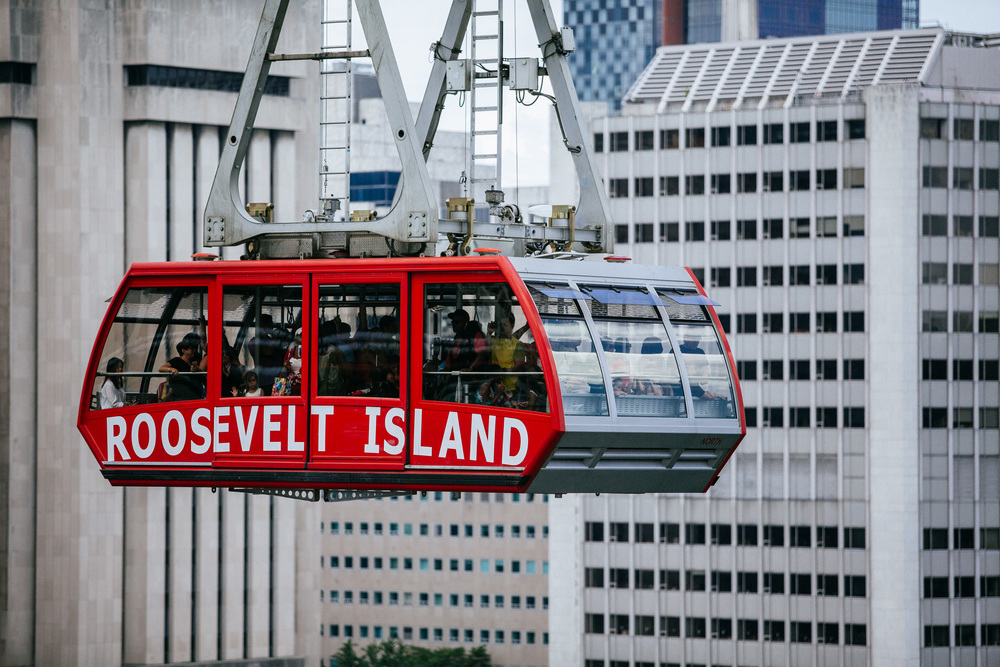 Roosevelt Island cable car, Queensboro Bridge