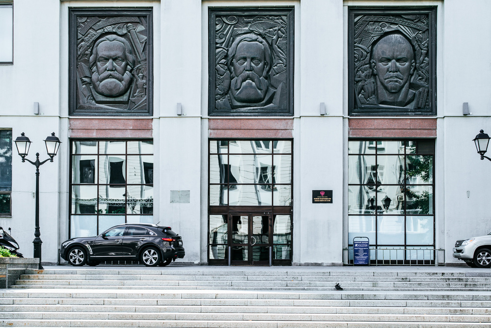One thing you notice is the amount of statues, faces and sculpture all around the city. Every building have some kind of face. Also people park in a weird way.