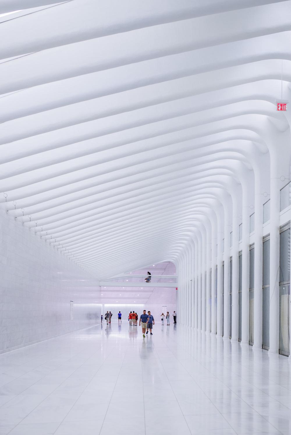 PATH Terminal Tunnel by Santiago Calatrava