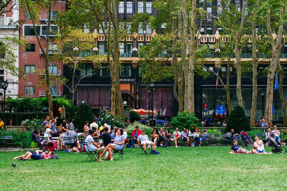 Bryant Park, Midtown Manhattan