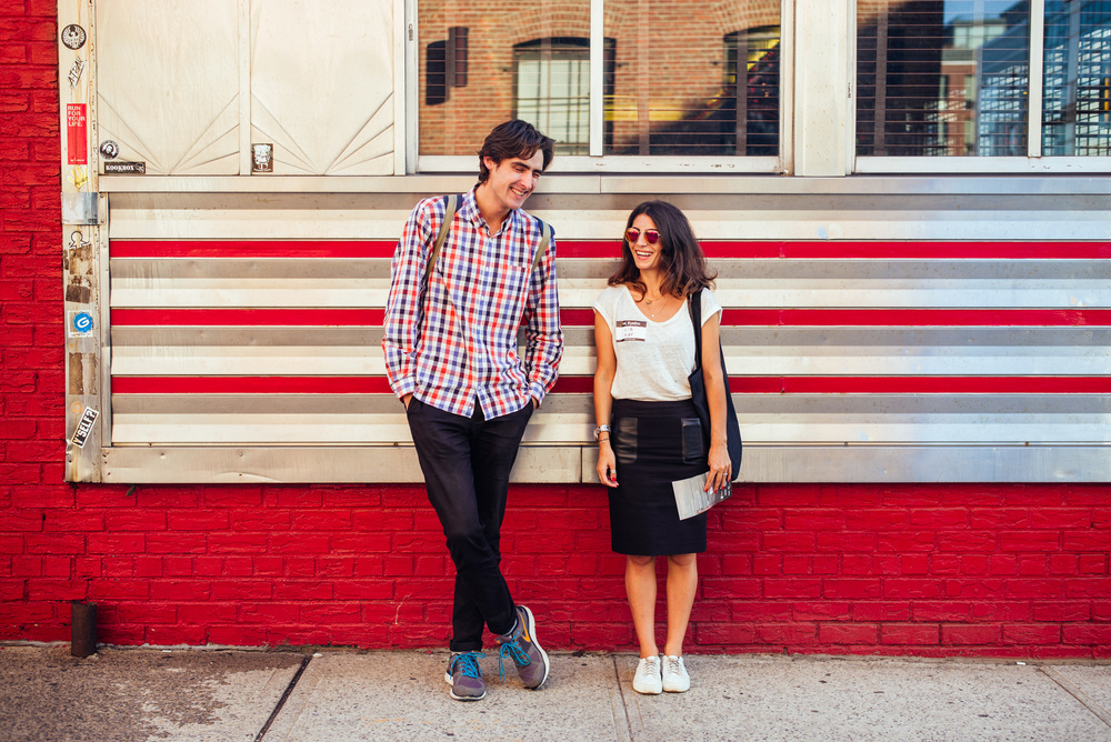 Serge  and  Lia , Williamsburg, Brooklyn.