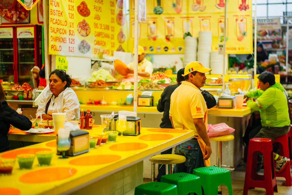Market in Coyoacán, Mexico City