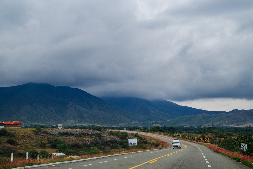 An hour away from Oaxaca City