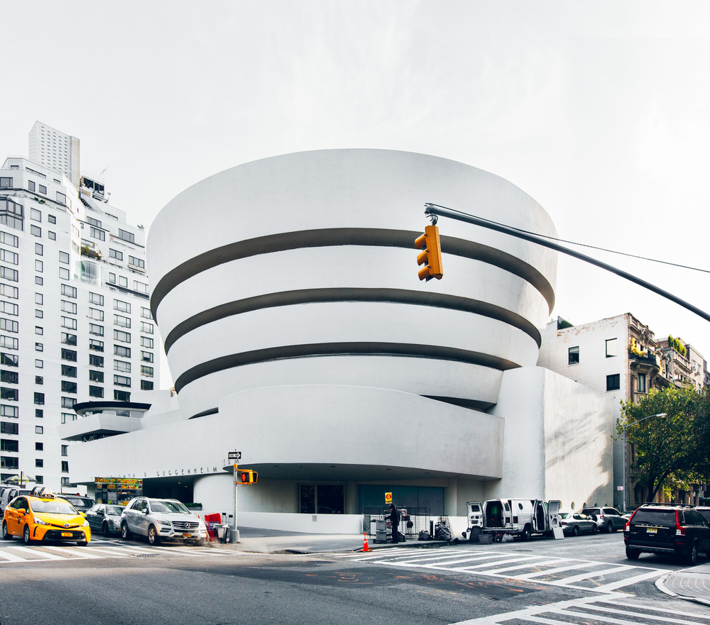 Solomon R. Guggenheim Museum, Upper East Side.