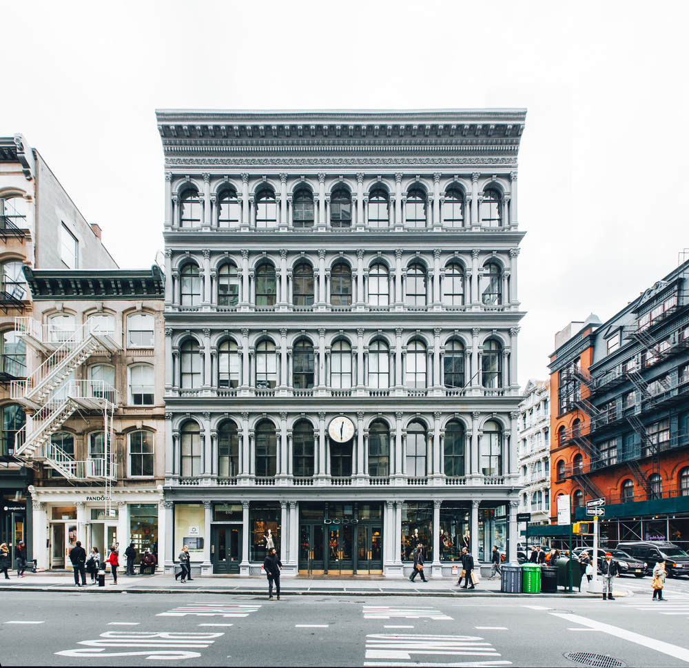 E. V. Haughwout Building, SoHo, New York.