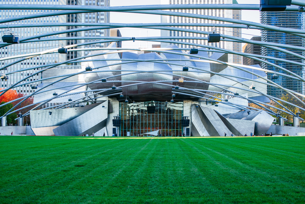 Frank Gehry had been courted by the city to design the bridge and the neighboring Jay Pritzker Pavilion.