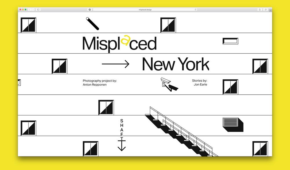 Cover slide of www.misplaced.design