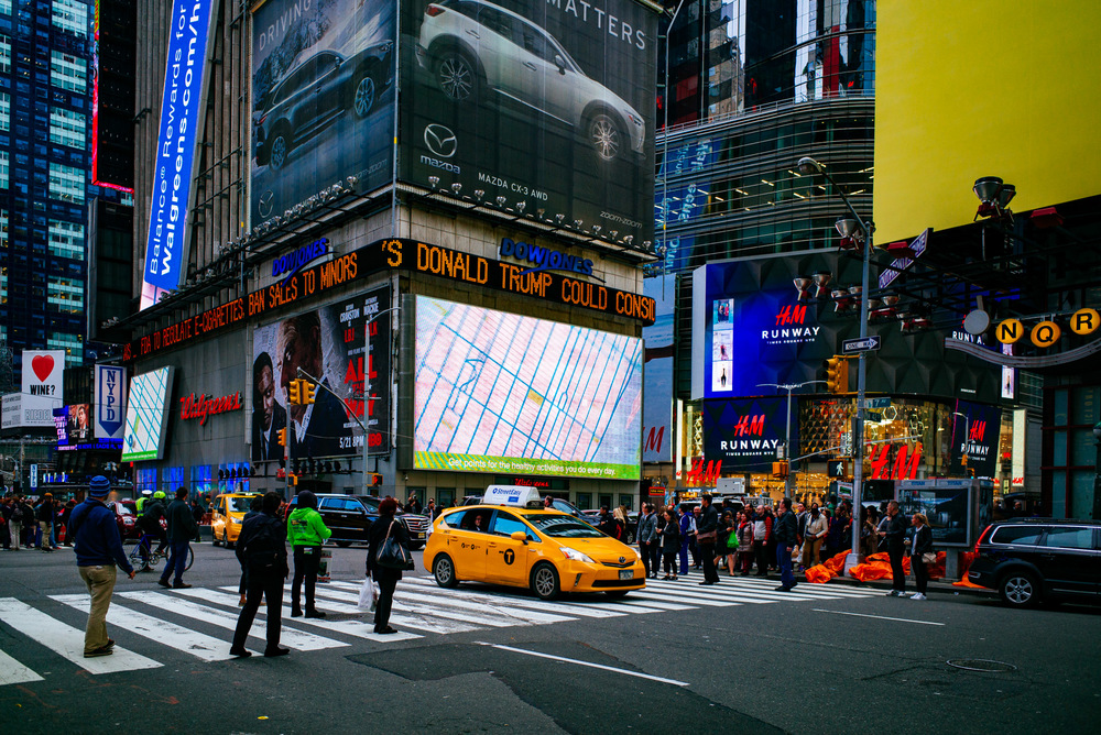 Times Square, Midtown Manhattan, New York