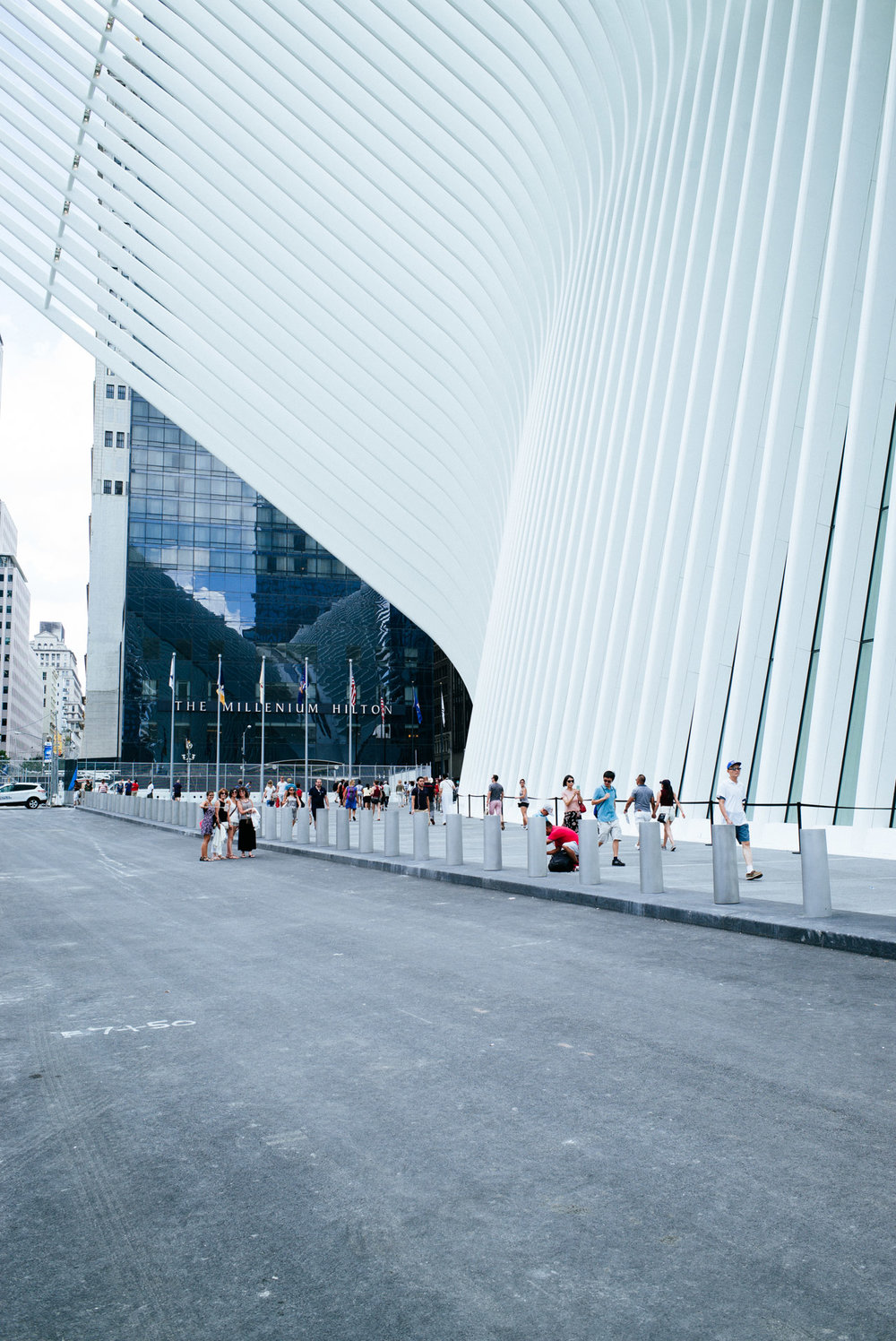 Oculus World Trade Center transportation hub, New York