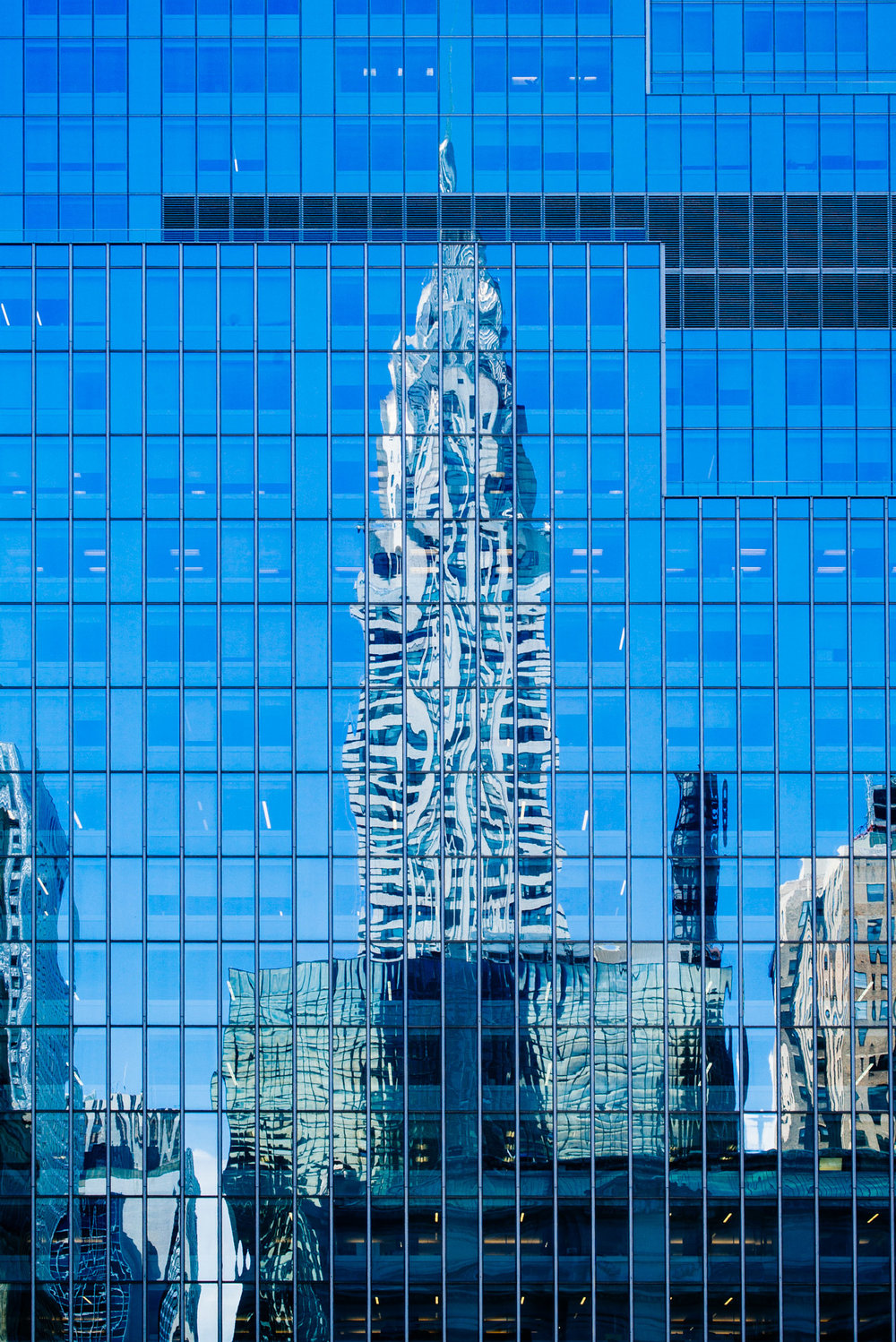 Chrysler Building reflection, Midtown, Manhattan