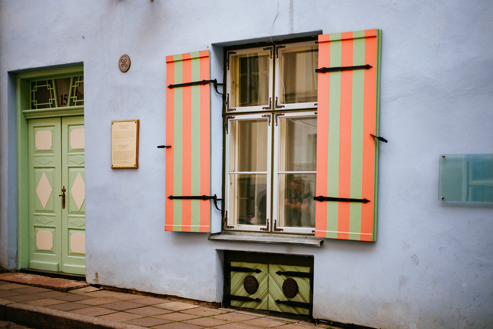 Pühavaimu street,Tallinn Old Town