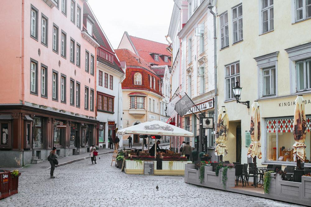 Suurgildi plats,Tallinn Old Town