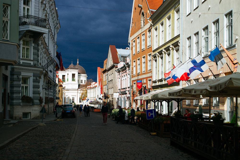 Vene Street,Tallinn Old Town