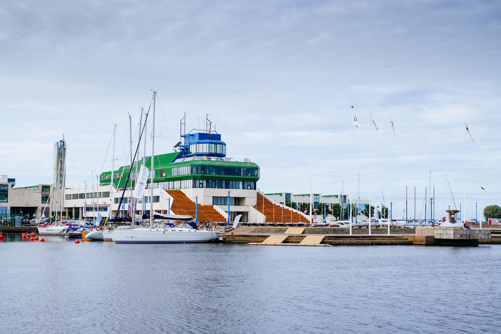 Tallinn yacht club and olympic center