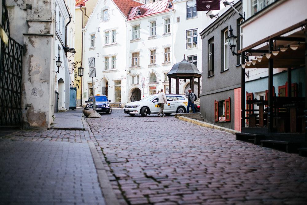 Rataskaevu plats,Tallinn Old Town