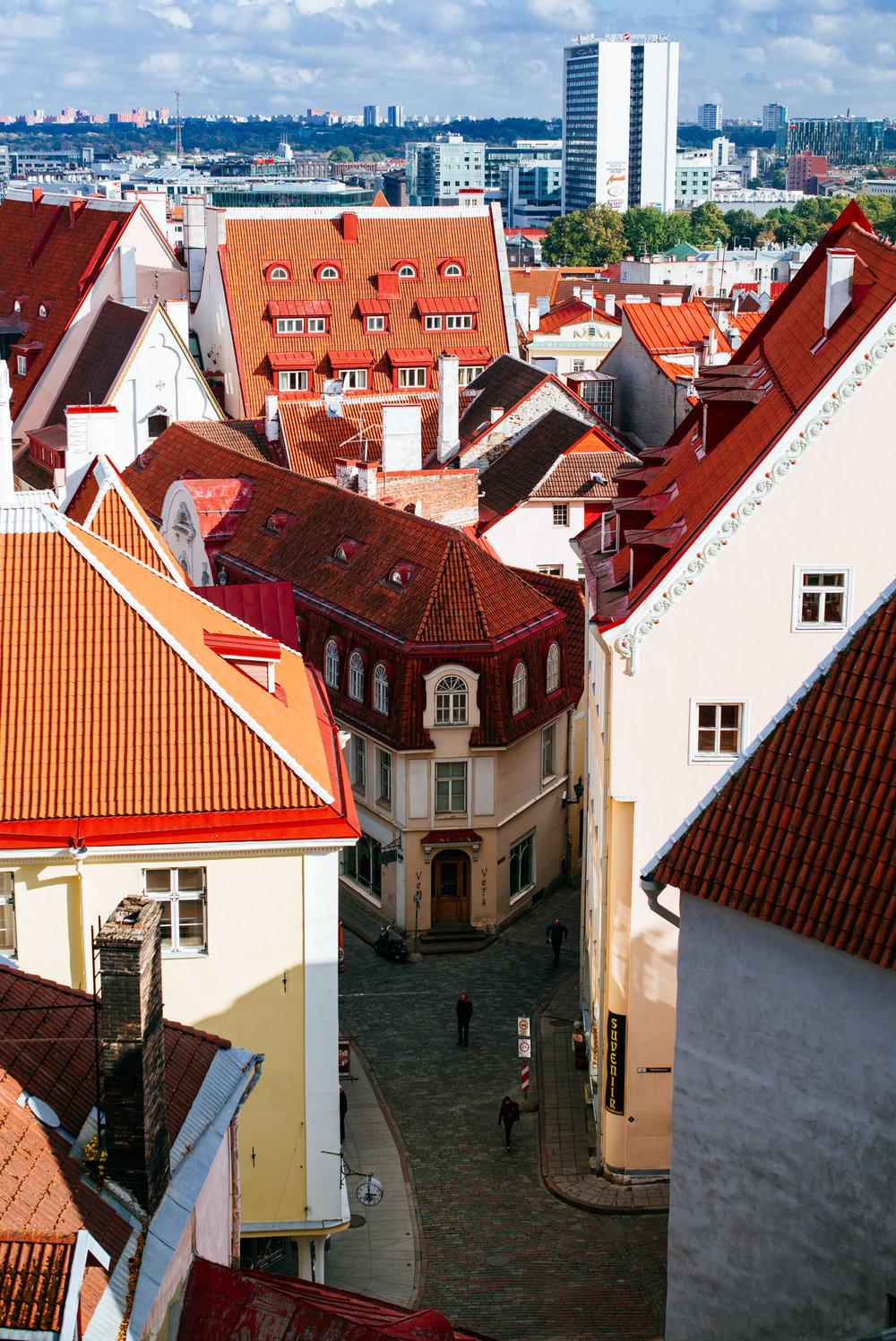 Pikk Street,Tallinn Old Town