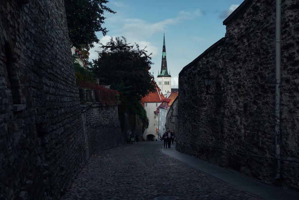 Pikk Jalg street, Tallinn Old Town