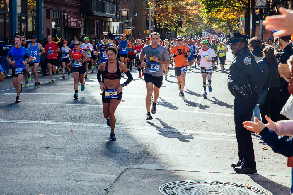 New York City Marathon.