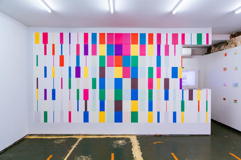 Karel Martens exhibition at P!