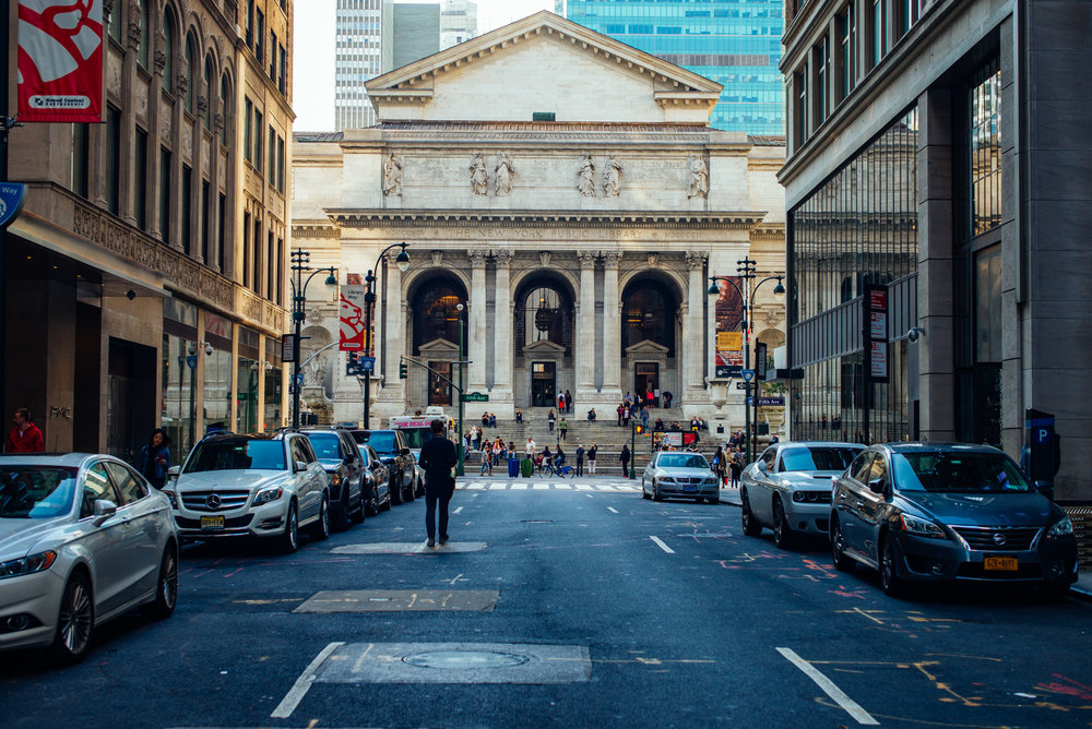 New York City Library, Manhattan.