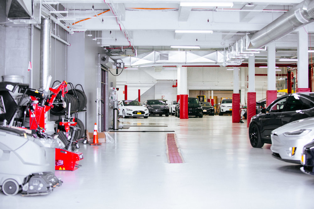 Red Hook Tesla store