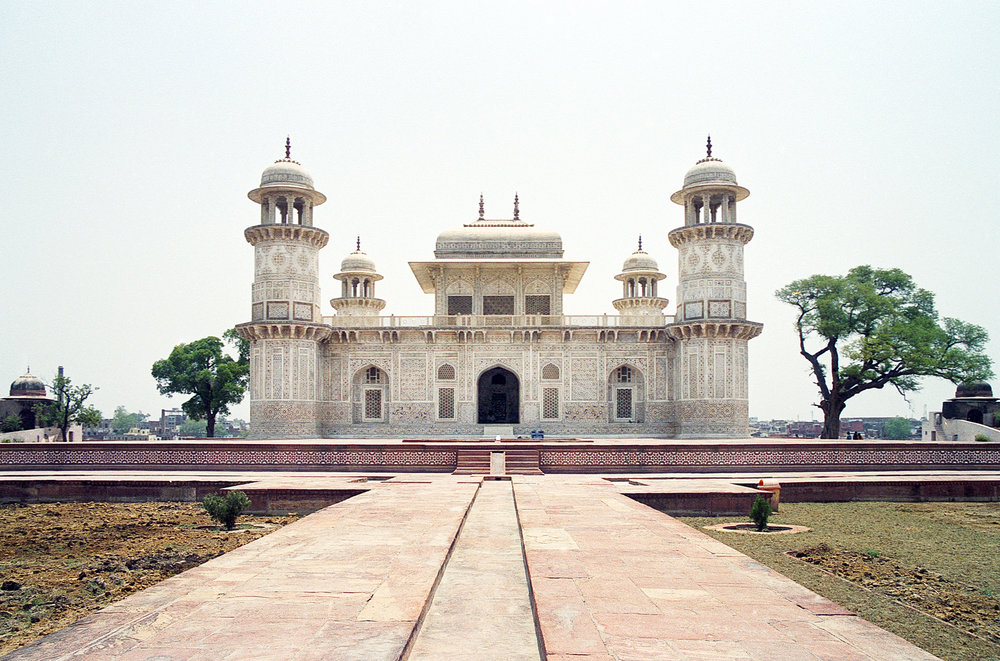 The Itmad-Ud-Daulah's Tomb at Agra