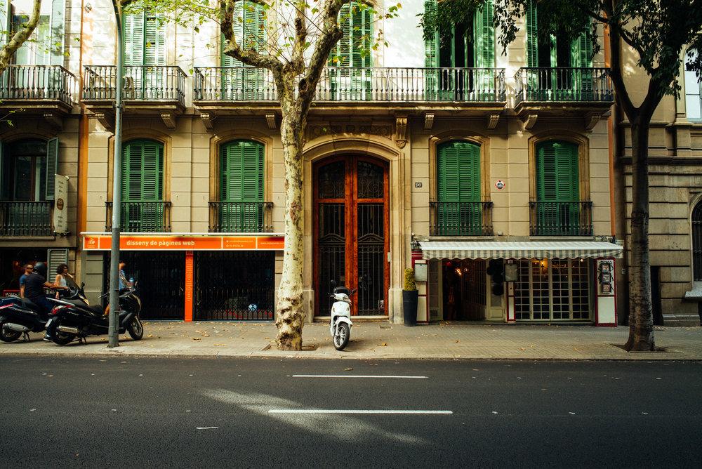 Streets in Dreta de l'Eixample