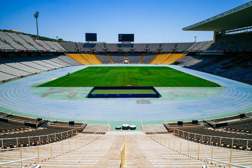 Estadi Olímpic Lluís Companys hosted 1992 Olympics