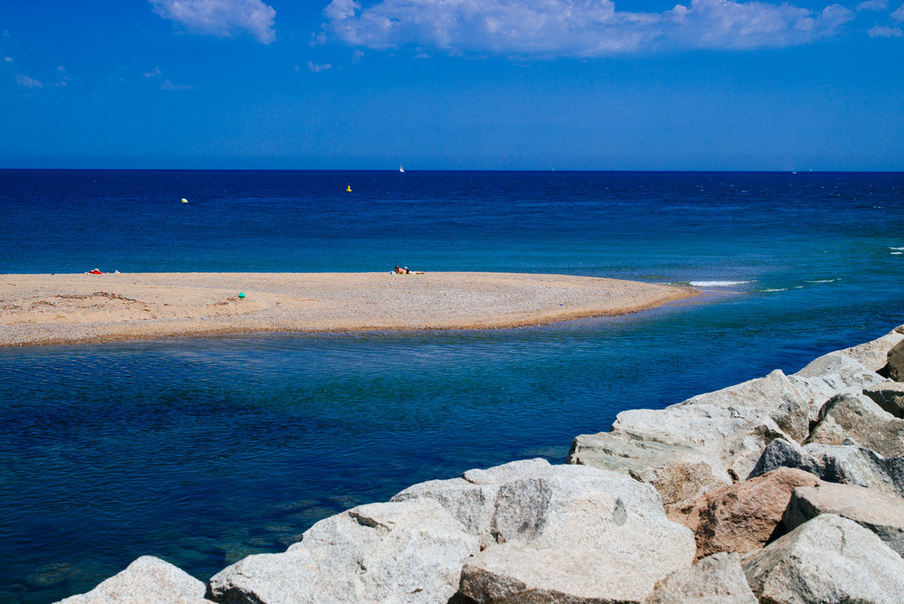 Sant Adrià De Besòs Beach