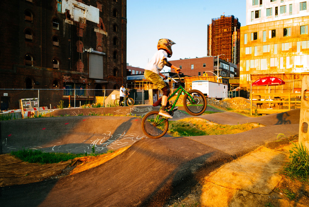 Brooklyn Bike Park, Williamsburg, Brooklyn