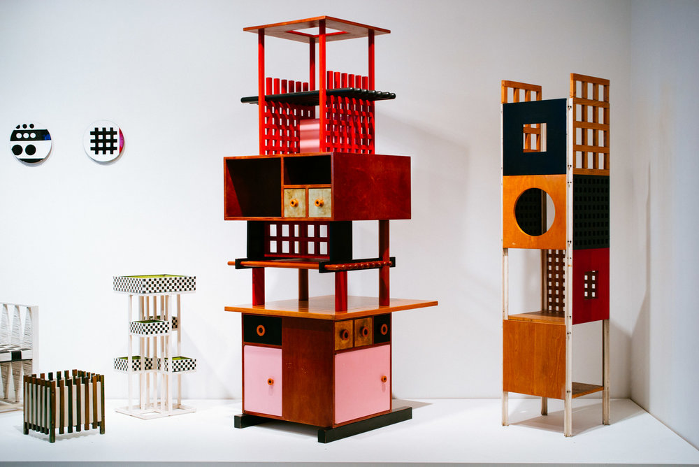 Ettore Sottsass exhibit at The Met Breuer