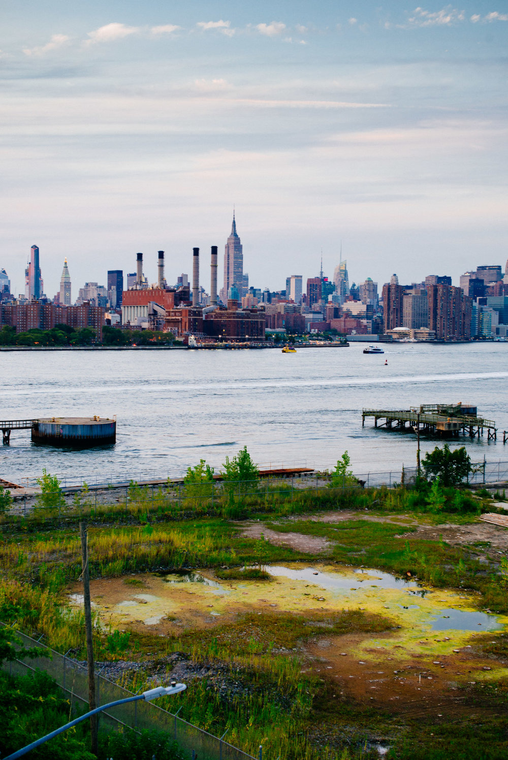 East River, Williamsburg, Brooklyn
